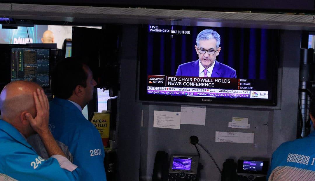 Jerome Powell, declaró que la economía de EEUU podría estar en recesión
