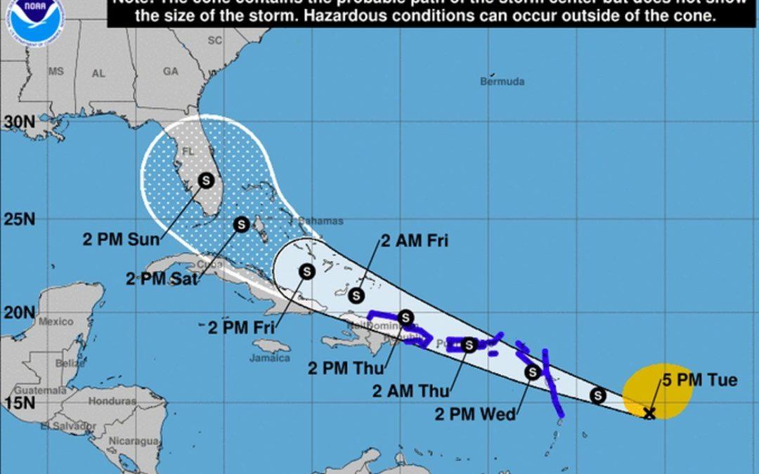 El sur de Florida podría ser afectado por el ciclón tropical que amenaza el Caribe