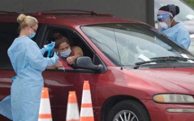 Florida registra 12,478 nuevos casos de COVID-19