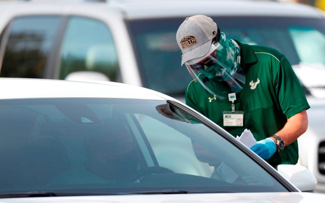 Florida registra casi 9,500 casos de Covid-19 en un día