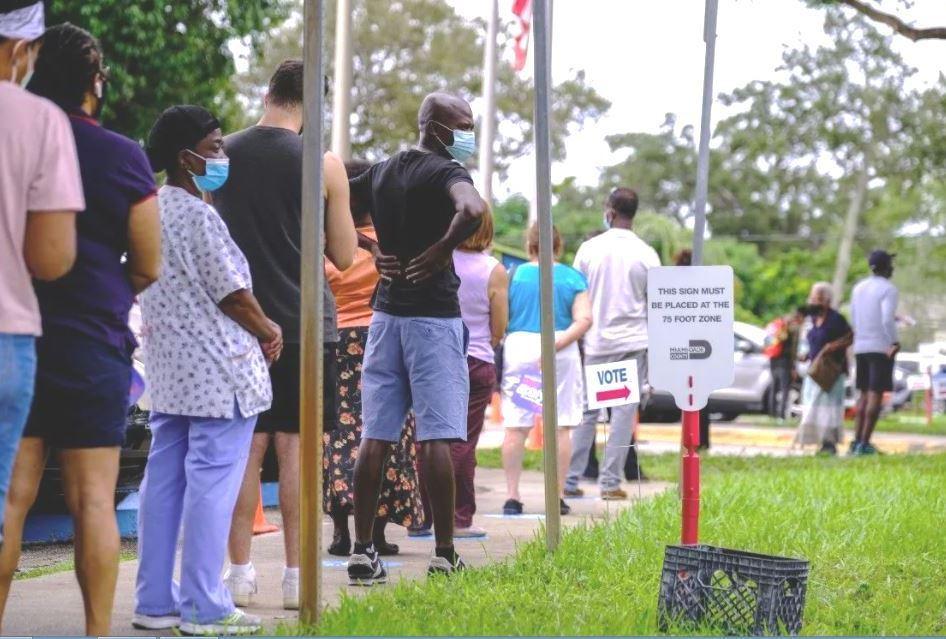 Récord de participación en elecciones generales en Florida